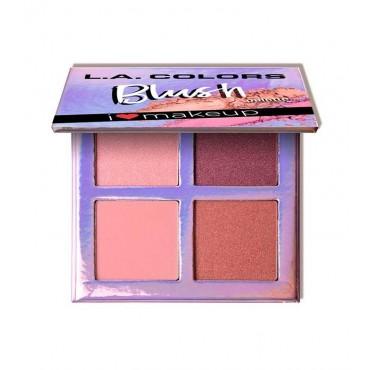 L.A Colors - Paleta de coloretes Beauty Booklet - C30510 Getting Gorgeous