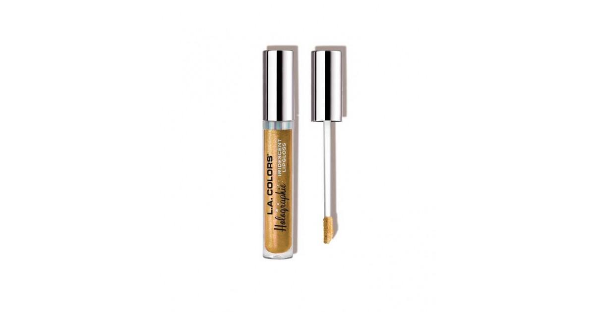 L.A Colors - Brillos de labios Holographic Iridescent - CLG422 Gold Rush