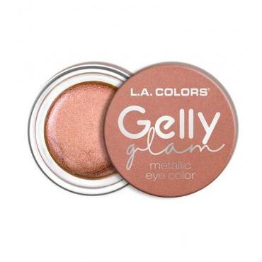 L.A Colors - Sombra de ojos en crema Gelly Glam Metallic - CES285 Extra