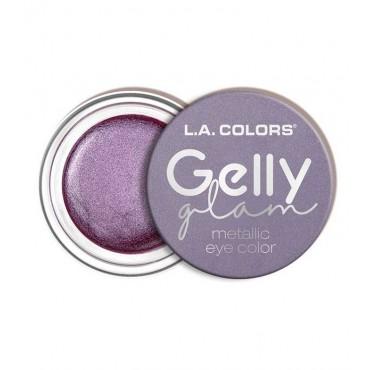 L.A Colors - Sombra de ojos en crema Gelly Glam Metallic - CES287 Rock Star