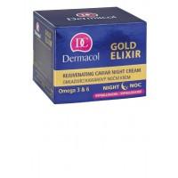 Dermacol - Crema de Noche Rejuvenecedora con Caviar - Gold Elixir