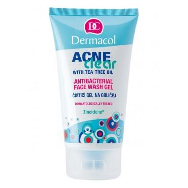 Dermacol - Gel de Lavado Facial Antibacteriano - Acneclear