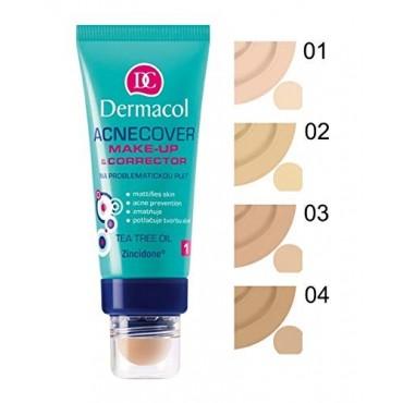 Dermacol - Base de maquillaje y Corrector Acnecover - 1
