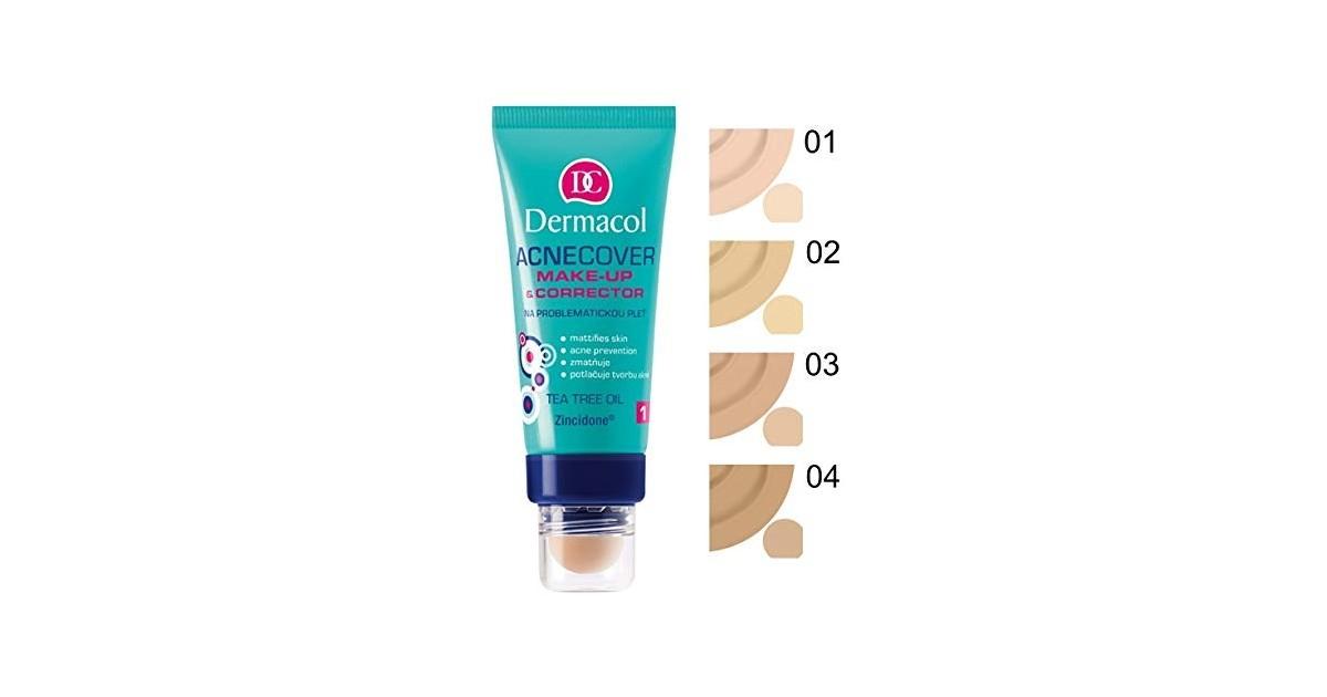 Dermacol - Base de maquillaje y Corrector Acnecover - 2