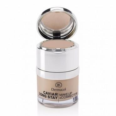 Dermacol - Base de maquillaje y Corrector Caviar - 03: Nude