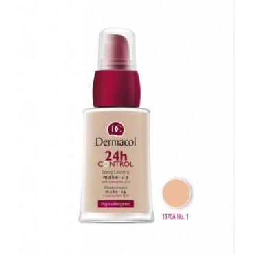 Dermacol - Base de maquillaje 24h Control Long Lasting - 01