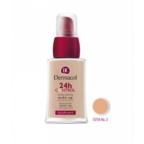 Dermacol - Base de maquillaje 24h Control Long Lasting - 02