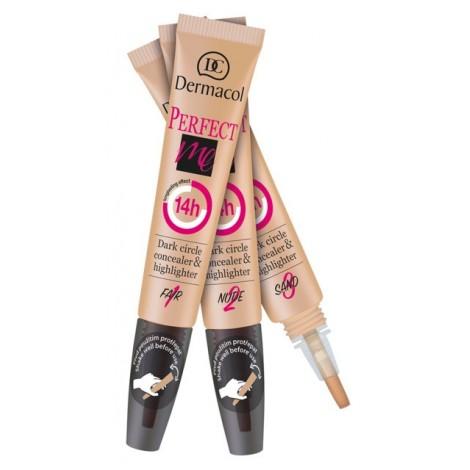 Dermacol - Corrector Perfeccionador e Iluminador - 2 en 1 - 1 Fair