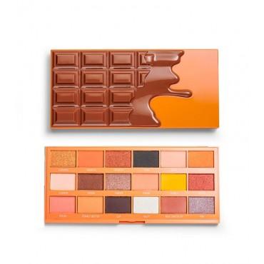 I Heart Revolution - Paleta de sombras Chocolate - Peanut Butter Cup