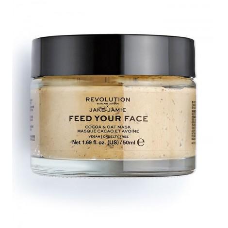Revolution Skincare - Mascarilla hidratante x Jake-Jamie Feed your face - Cacao y avena