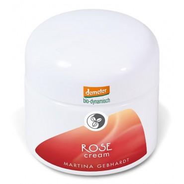 Martina Gebhardt Naturkosmetik - Rose - Crema Facial para piel seca y sensible