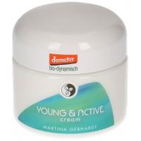Martina Gebhardt Naturkosmetik - Crema Young & Active piel joven y mixta