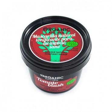 ORGANIC KITCHEN - Mascarilla Facial Natural Tonificante - Tomato Blush