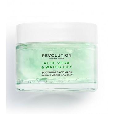 Revolution Skincare - Mascarilla calmante Aloe Vera & Water Lily