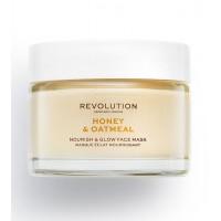 Revolution Skincare - Mascarilla nutritiva e iluminadora Honey & Oatmeal
