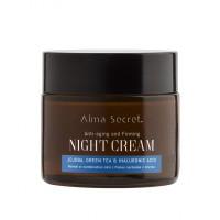 Alma Secret - Reparadora de Noche Antiedad con Jojoba, Té verde & Ácido Hialurónico