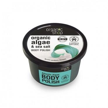 Organic Shop - Algas del Atlántico - Exfoliante corporal