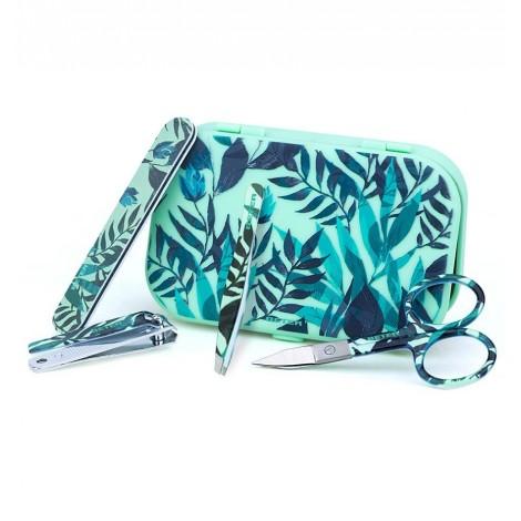 Beter - Kit manicura Mini Travel Kit - Tropical - Verde