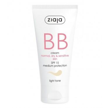 Ziaja - BB Cream - Pieles Normales, Secas y Sensibles - Claro
