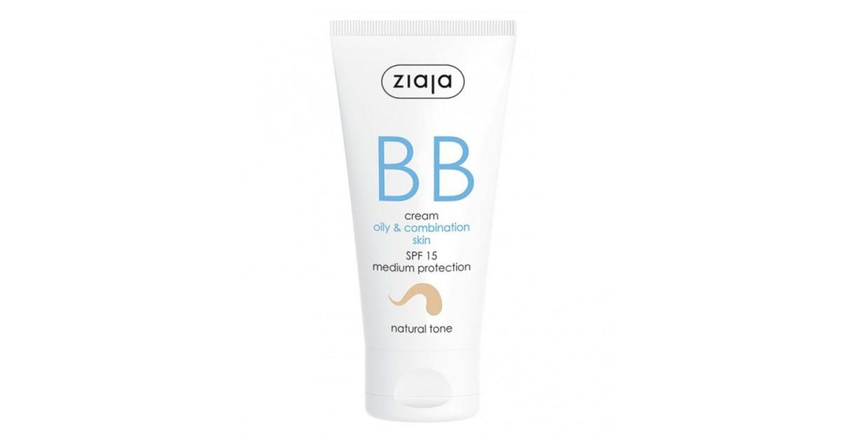 Ziaja - BB Cream - Pieles Grasas y Mixtas - Natural