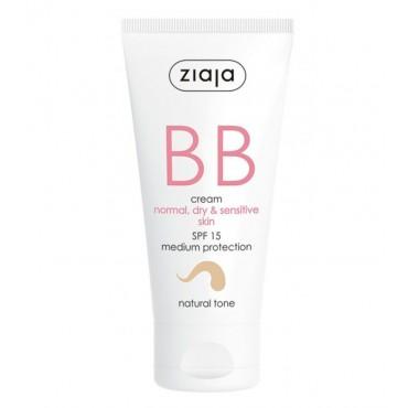 Ziaja - BB Cream - Pieles Normales, Secas y Sensibles - Natural