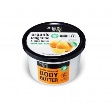 Organic Shop - Mandarina de Sevilla - Manteca Corporal
