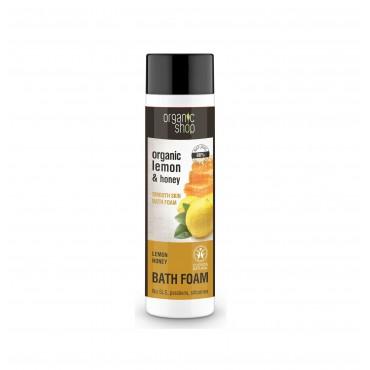 Organic Shop - Miel y Limón - Espuma de Baño