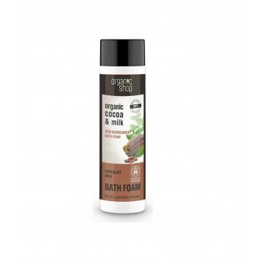 Organic Shop - Leche y Chocolate - Espuma de Baño
