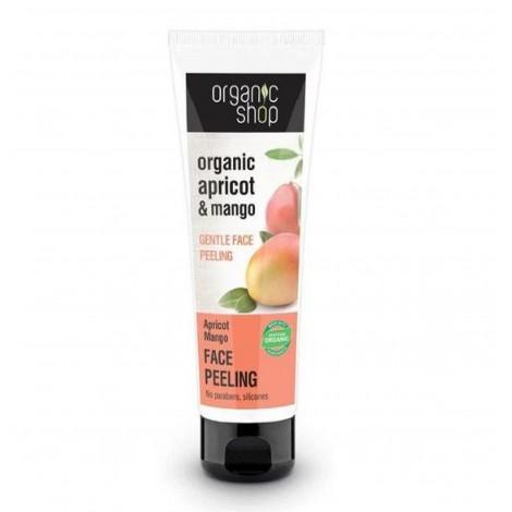 Organic Shop - Albaricoque y Mango - Exfoliante Facial Suave