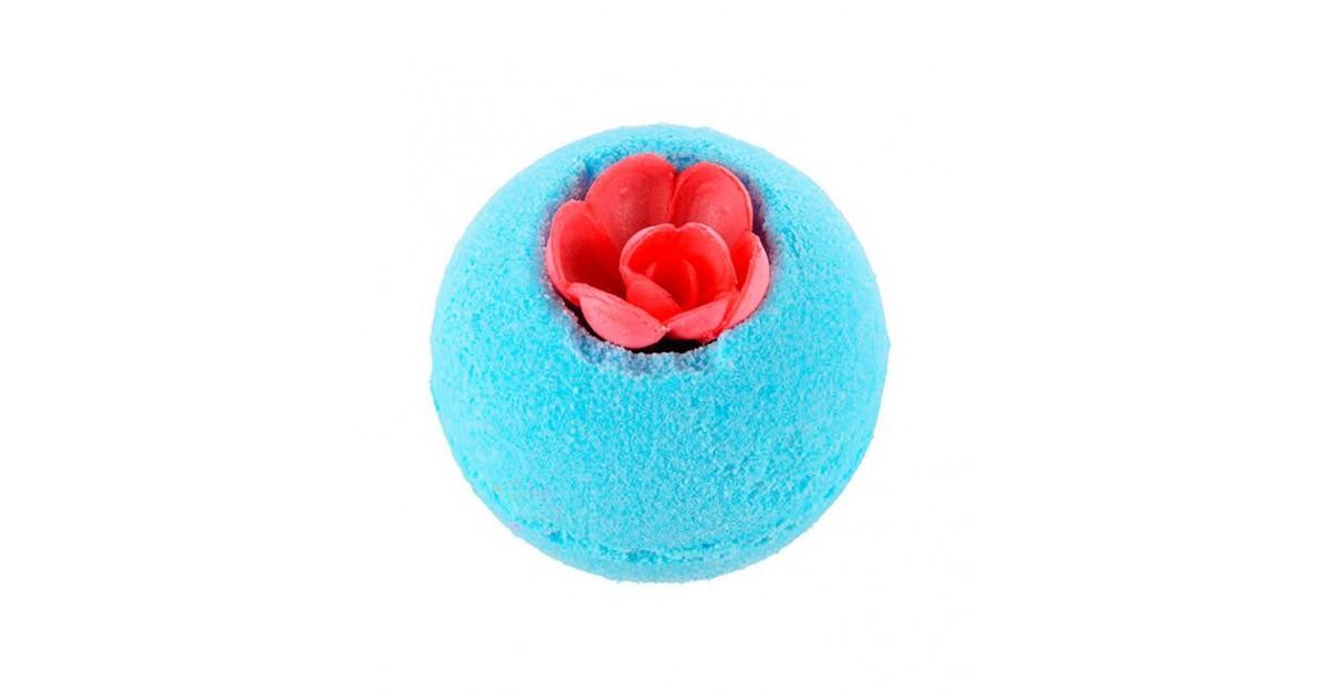 Treets - Bomba de baño Darling Flower Azul