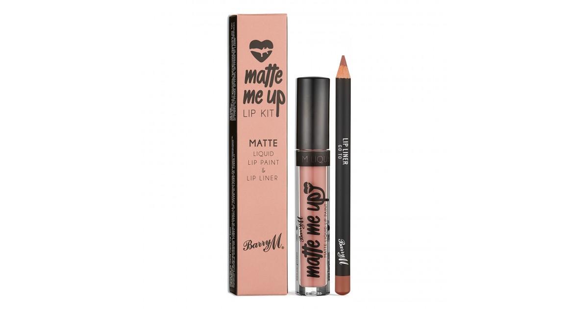 Barry M - Kits de labios - Matte Me Up - Go To