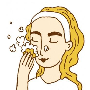 Lamazuna - Limpiador facial sólido - Piel normal
