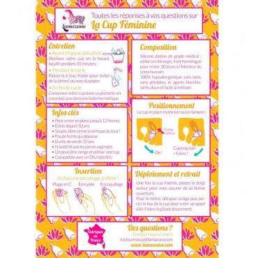 Lamazuna - Copa menstrual vegana reutilizable - Talla 2