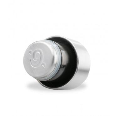 Qwetch - Botella Isotérmica Acero Inoxidable 500ml - Madera