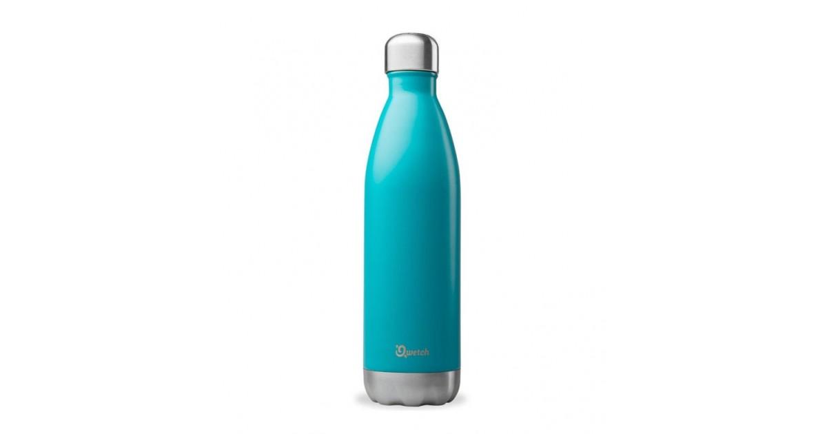 Qwetch - Botella Isotérmica Acero Inoxidable 750ml - Turquesa