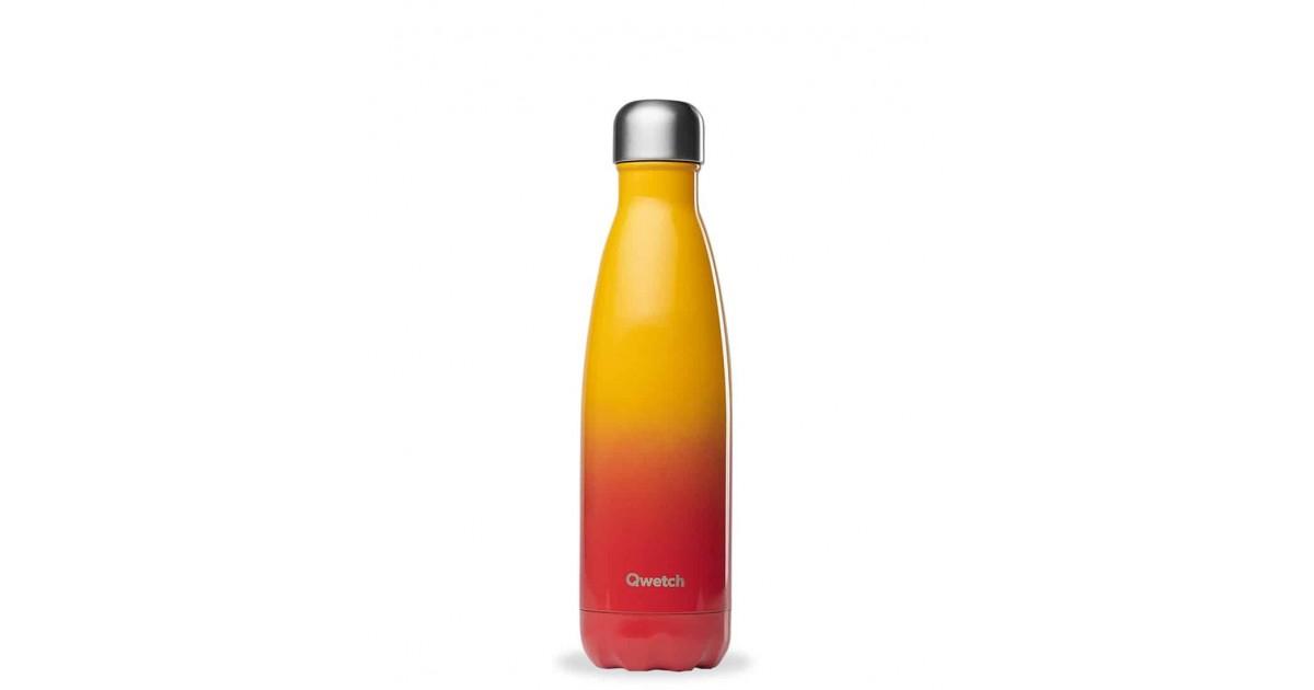 Qwetch - Botella Isotérmica Acero Inoxidable 500ml - Sunset