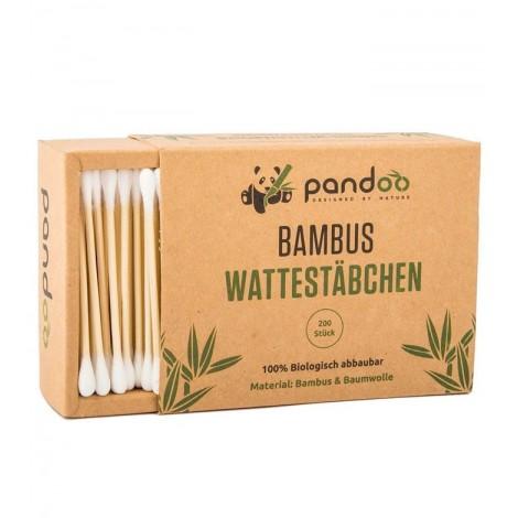Pandoo - Bastoncillos para el oído de bambú