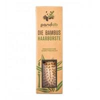 Pandoo - Cepillo para el pelo de bambú