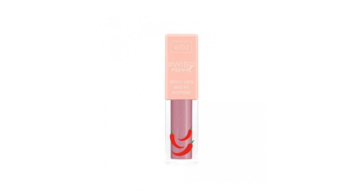 Wibo - WIBOmood - Labial Líquido -Spicy Lips Matte Edition - 3