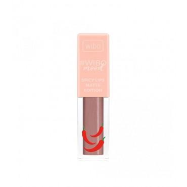 Wibo - WIBOmood - Labial Líquido -Spicy Lips Matte Edition - 4