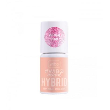 Wibo - WIBOMOOD - Esmalte de uñas Hybrid - 04: Virtual Pink