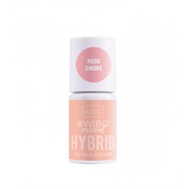 Wibo - WIBOMOOD - Esmalte de uñas Hybrid - 01: Rose Smoke