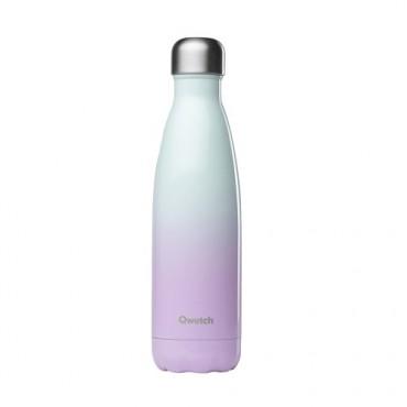 Qwetch - Botella Isotérmica Acero Inoxidable 500ml - Rosa