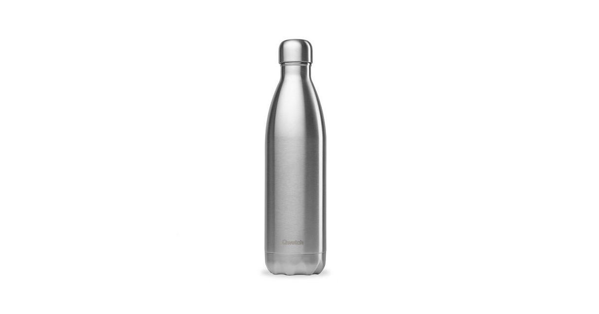 Qwetch - Botella Isotérmica Acero Inoxidable 500ml - Pulido