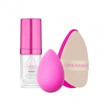 BeautyBlender - Set de dos Esponjas + Spray - Glow All Night