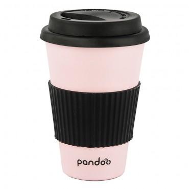 Pandoo - Vaso de Bambú - Rosa