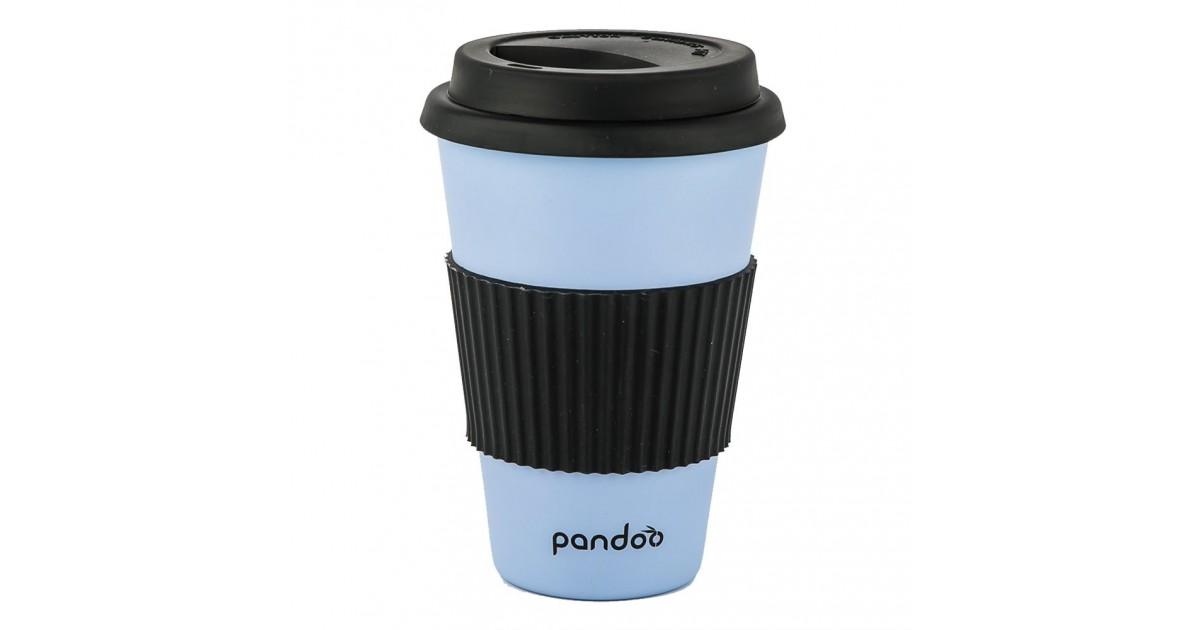 Pandoo - Vaso de Bambú - Azul