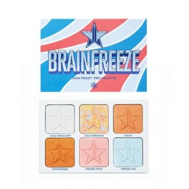 Jeffree Star Cosmetics - *Jawbreaker collection* - Paleta de iluminadores Brainfreeze Skin Frost Pro