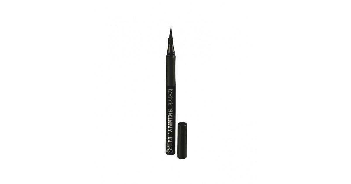 Technic Cosmetics - Eyeliner líquido Skinny - Negro