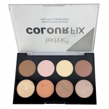 Technic Cosmetics - Paleta de Iluminadores en polvo Colour Fix